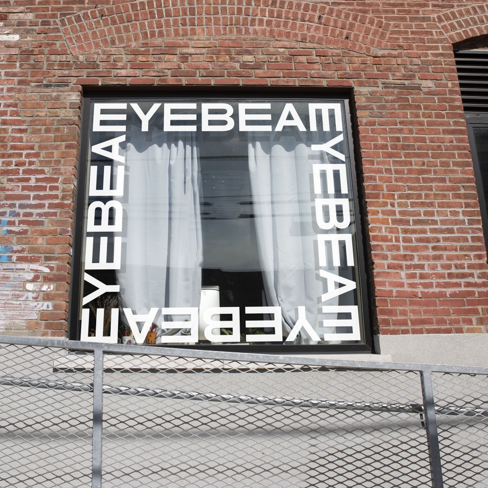 New  logo  and Identity for Eyebeam by Mother Design