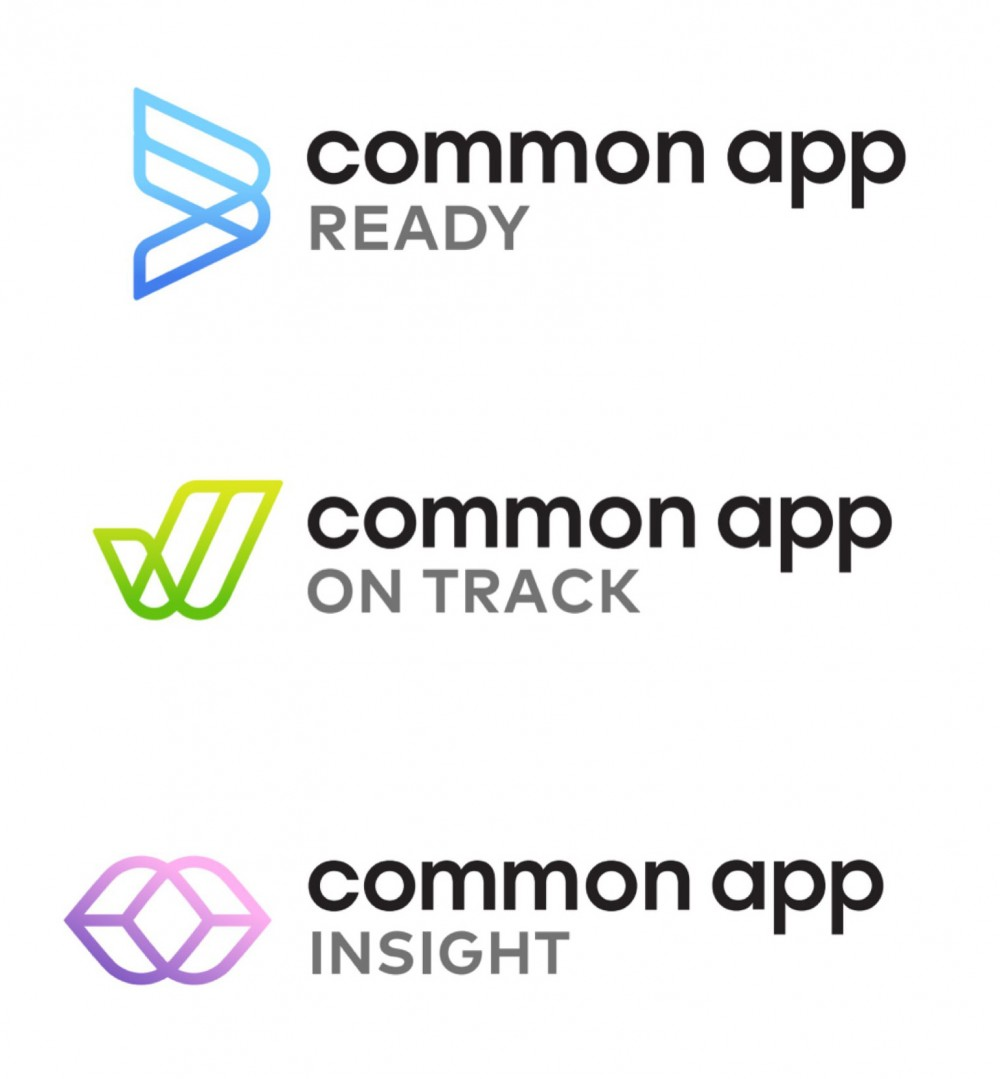 New logo and Identity for Common App by Tomorrow Partners