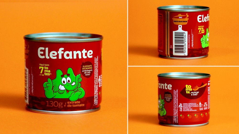 New  logo , Identity, and Packaging for Elefante by Interbrand