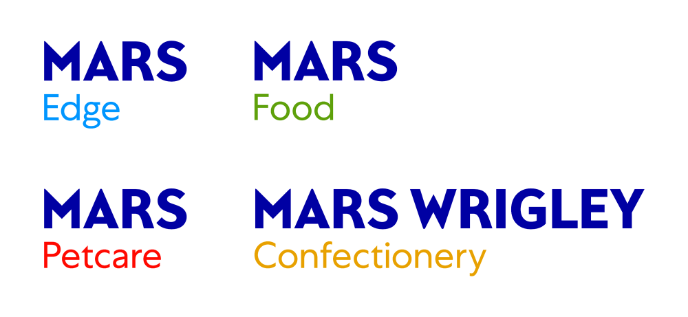 New  logo  for Mars by Jones Knowles Ritchie