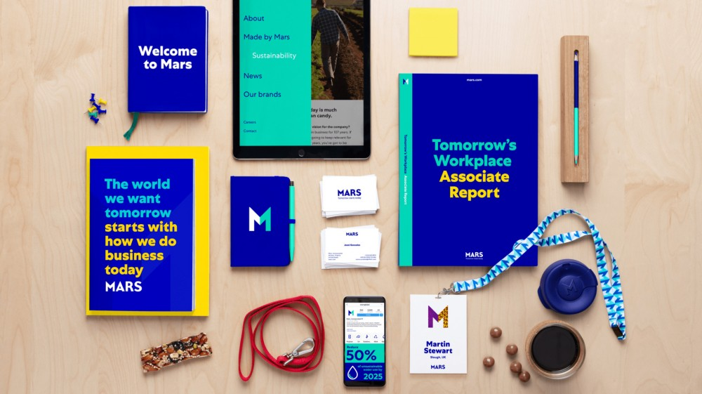 Follow-up: New  logo  and Identity for Mars by Jones Knowles Ritchie