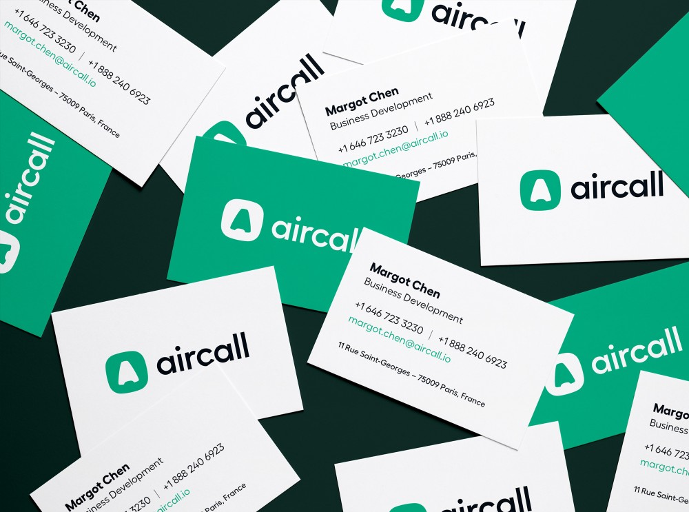 New  logo  and Identity for Aircall by Muxu.Muxu and In-house