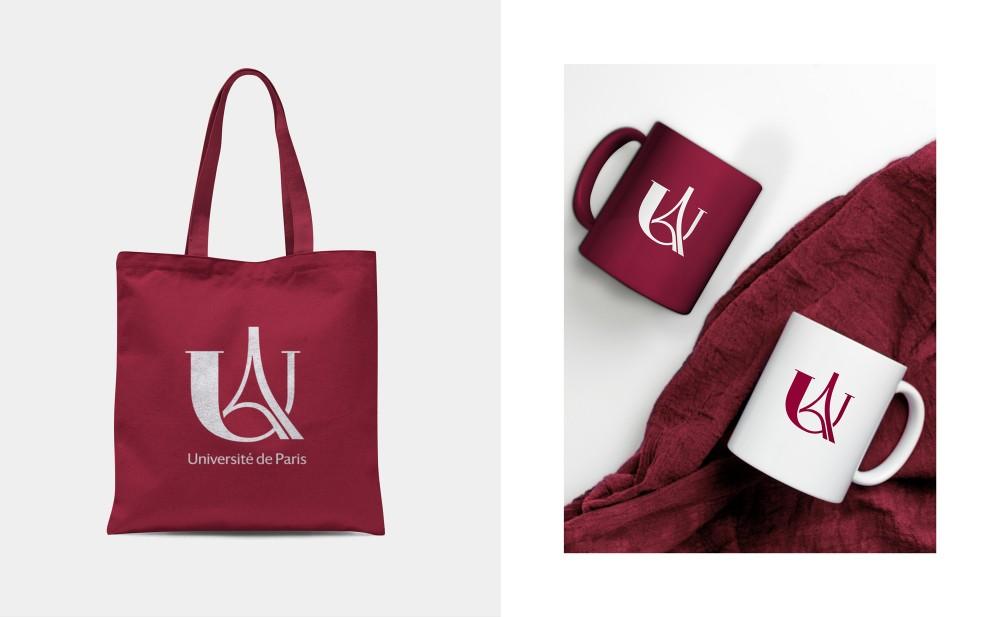 New logo and Identity for Université de Paris by Graphéine