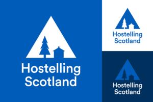 苏格兰青年旅社SYHA标志logo和VI设计品牌升级改造