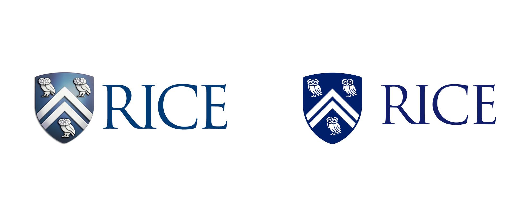 莱斯大学vi设计,品牌形象改造