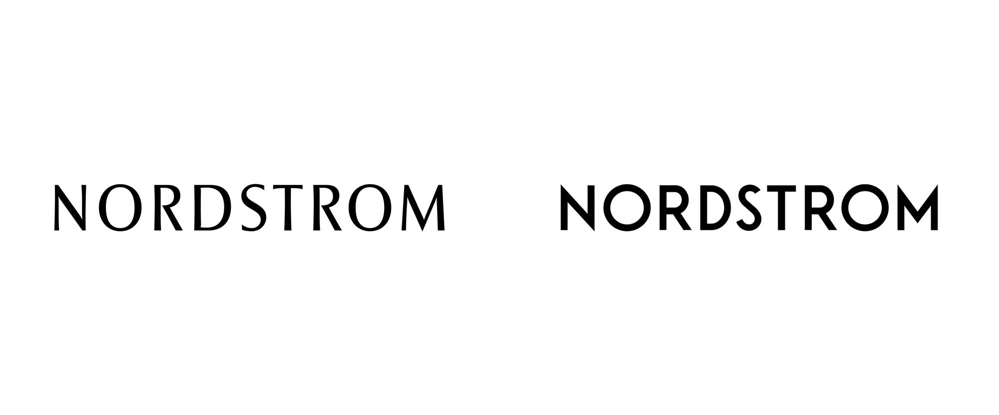 时尚零售商诺德斯特龙公司logo设计