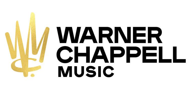 华纳查派尔音乐公司标志设计,金色皇冠符号logo设计