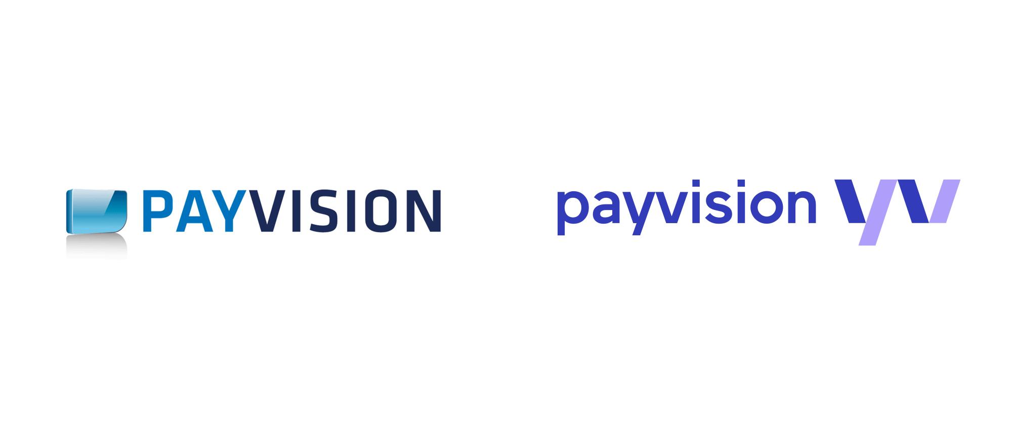 Payvision安全交易支付平台logo设计,企业形象塑造