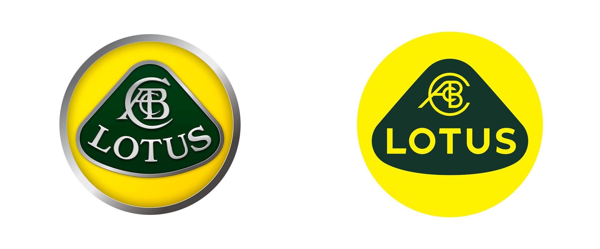 高性能跑车汽车品牌Lotus标识logo设计