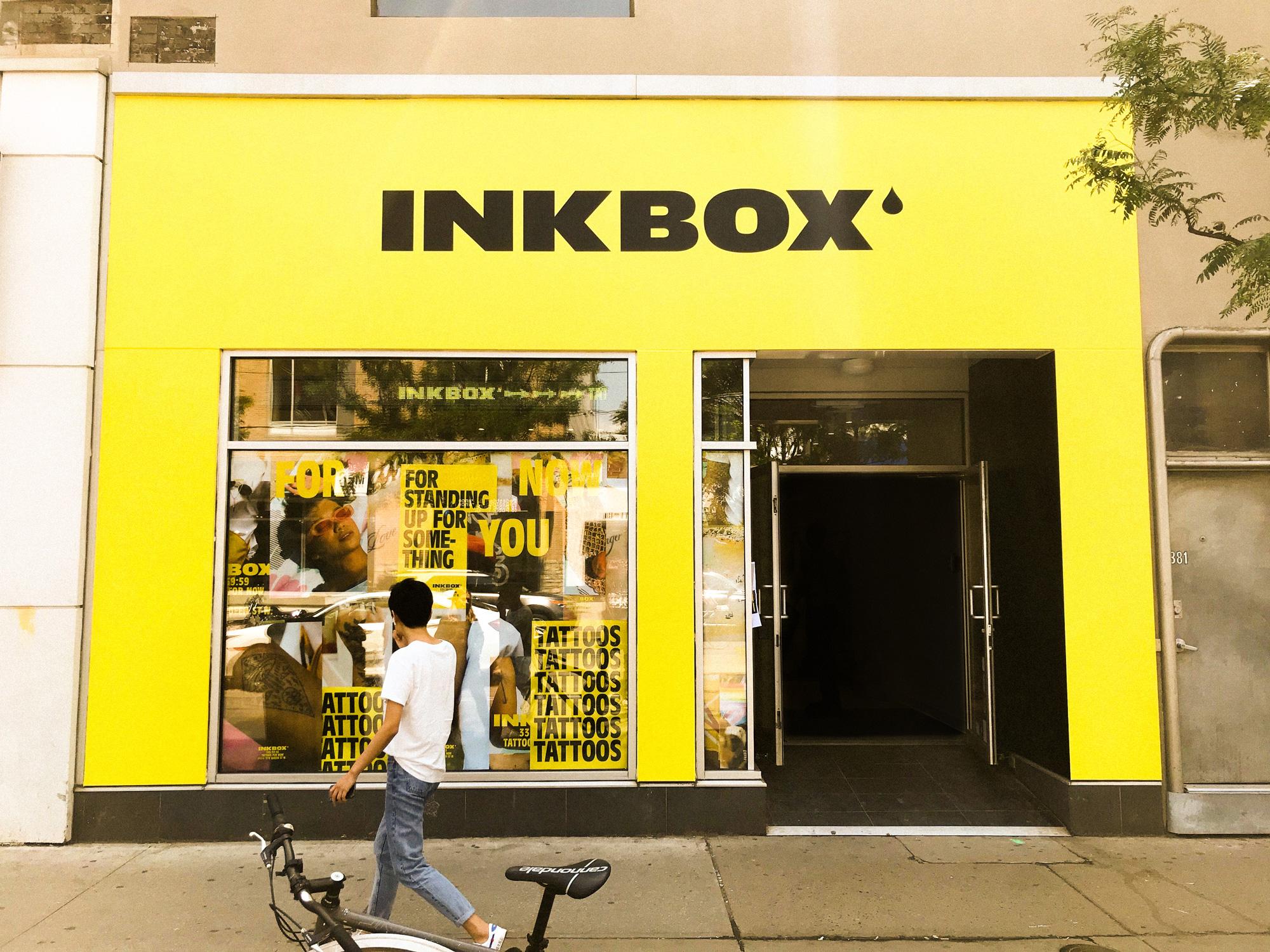 加拿大Inkbox公司品牌形象vi设计全案