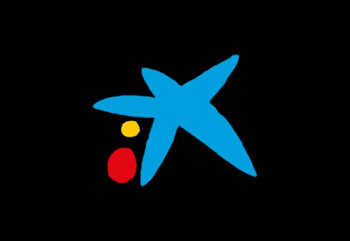 西班牙CaixaBank银行logo设计