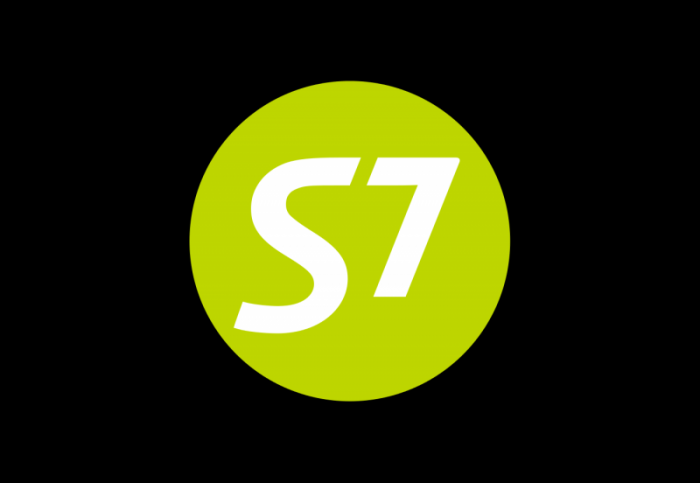 S7 AirlinesS7航空logo设计
