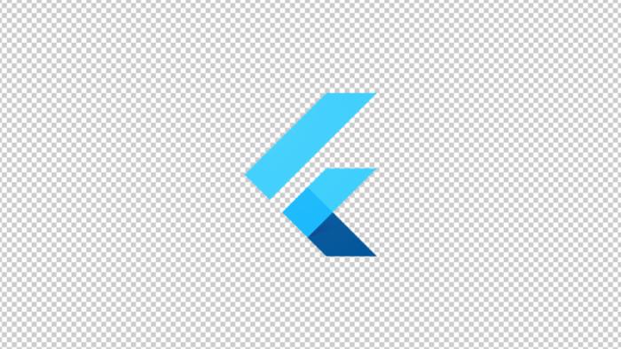 Flutter software logo 01