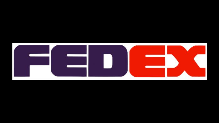 Fedex logo 1991 1994