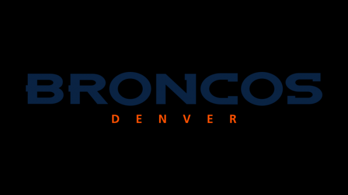 Denver Broncos woodmark 1200x675