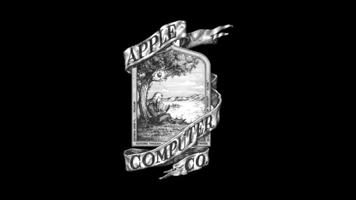1976 Apple first logo