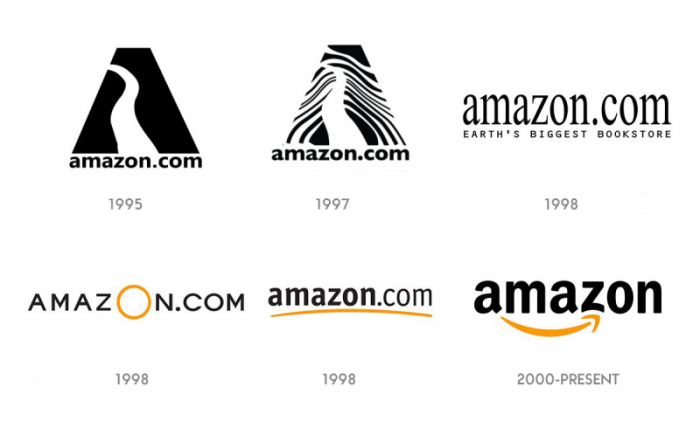 amazon logo meaning design history and evolution
