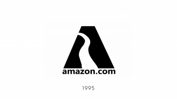 1995 Amazon logo