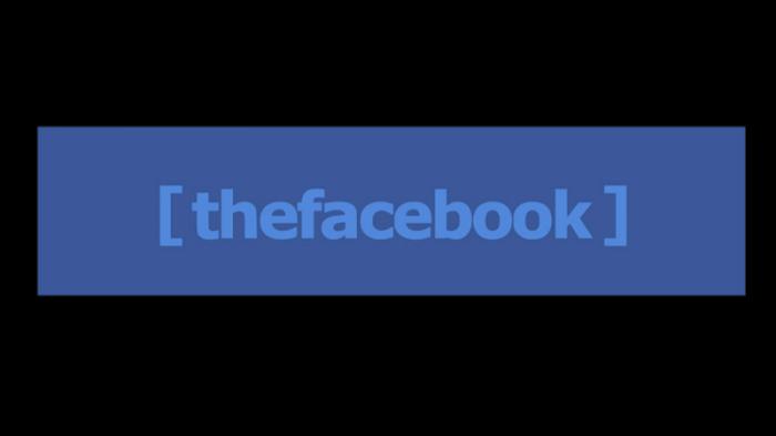 2004 Facebook logo