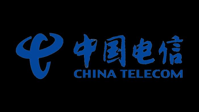 Logo of China Telecom since 2002