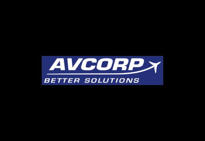 AVCorp飞机机身结构设计和制造公司logo设计