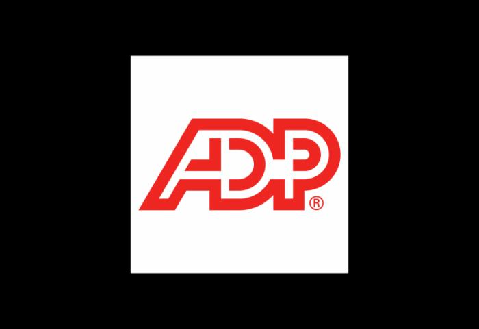ADP数据处理外包公司logo设计