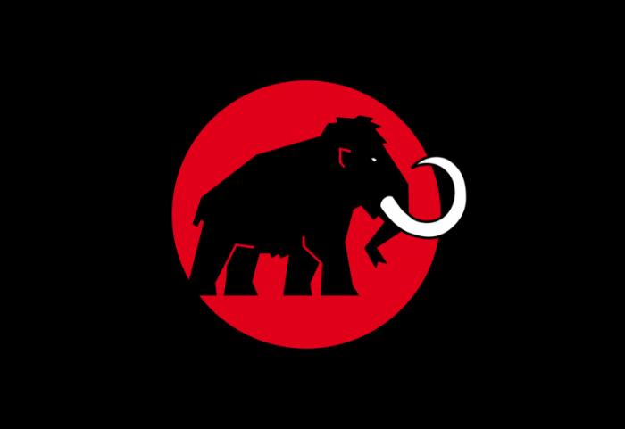 瑞士Mammut登山设备制造logo设计