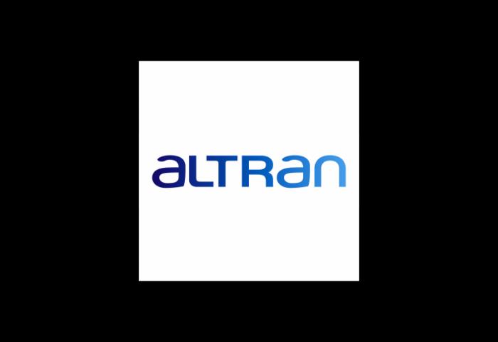 Altran航空航天汽车能源铁路金融医疗保健和电信logo设计