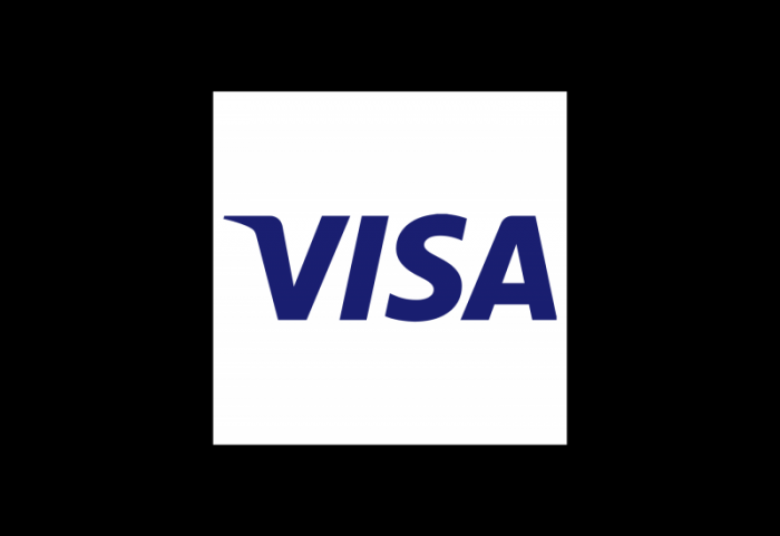 美国Visa银行支付服务Logo设计