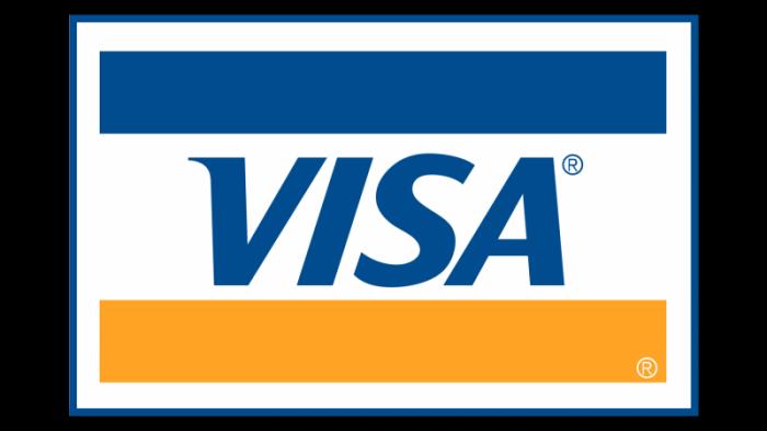 Visa logo 1992–2000